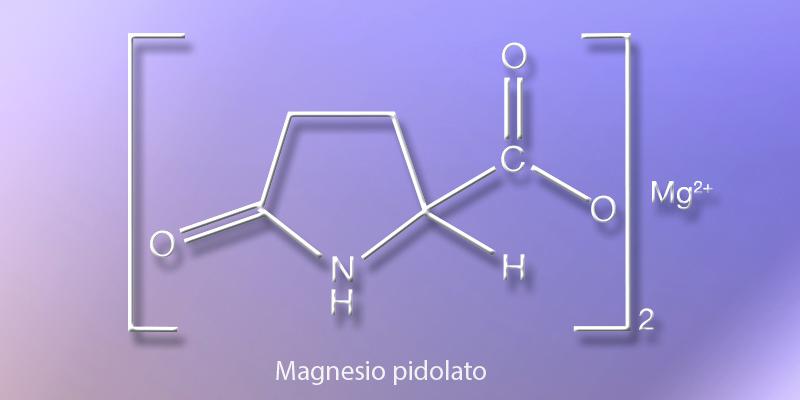 Magnesio pidolato_formula